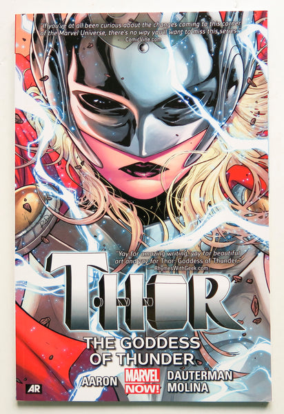 Thor The Goddess of Thunder Vol. 1 Marvel Now Graphic Novel Comic Book