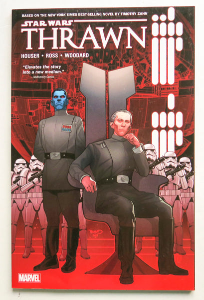 Star Wars Thrawn Marvel Graphic Novel Comic Book