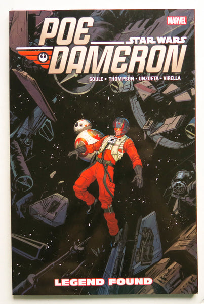 Star Wars Poe Dameron Vol. 4 Legend Found Marvel Graphic Novel Comic Book