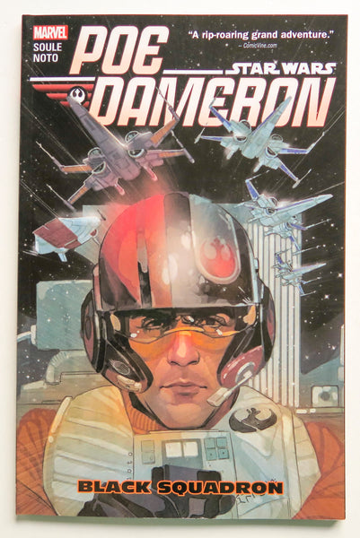 Star Wars Poe Dameron Vol. 1 Black Squadron Marvel Graphic Novel Comic Book