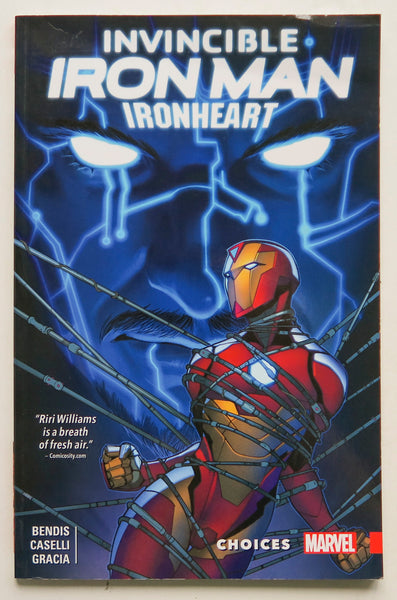 Invincible Iron Man Ironheart Choices Vol. 2 Marvel Graphic Novel Comic Book