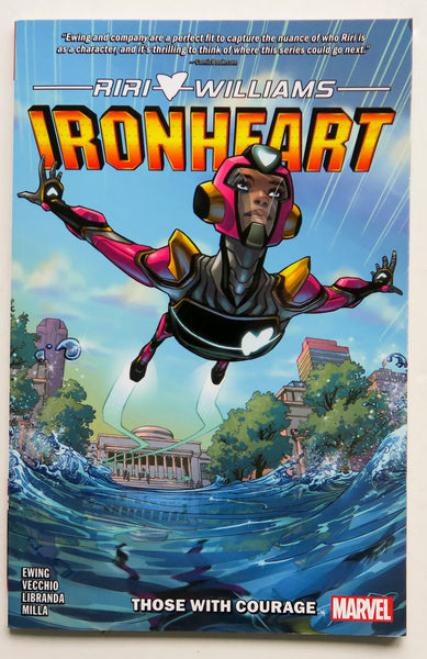 Ironheart Those With Courage Vol. 1 Marvel Graphic Novel Comic Book