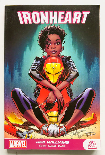 Ironheart Riri Williams Marvel Graphic Novel Comic Book