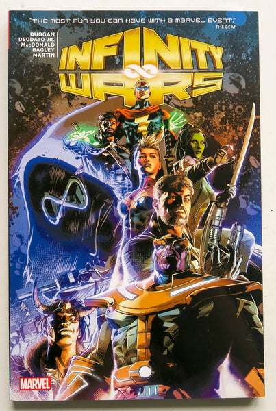 Infinity Wars Marvel Graphic Novel Comic Book