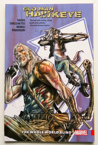 Old Man Hawkeye The Whole World Blind Vol. 2 Marvel Graphic Novel Comic Book