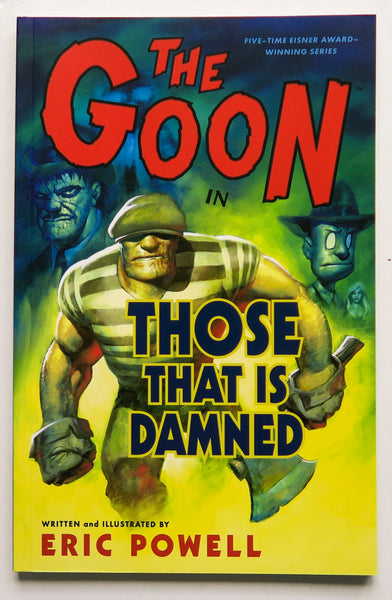 The Goon Those That Is Damned Vol. 8 Dark Horse Graphic Novel Comic Book