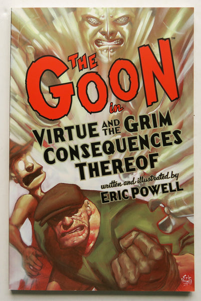 The Goon Virtue and the Grim Consequences Thereof Vol. 4 Dark Horse Graphic Novel Comic Book