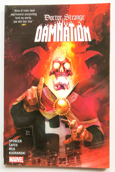 Doctor Strange Damnation Marvel Graphic Novel Comic Book