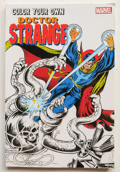 Color Your Own Doctor Strange Marvel Coloring Book