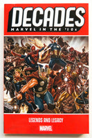 Decades Marvel In The '10s Legends and Legacy Graphic Novel Comic Book