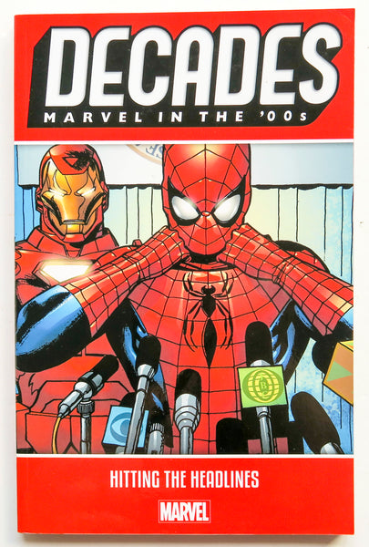 Decades Marvel In The '00s Hitting the Headlines Graphic Novel Comic Book