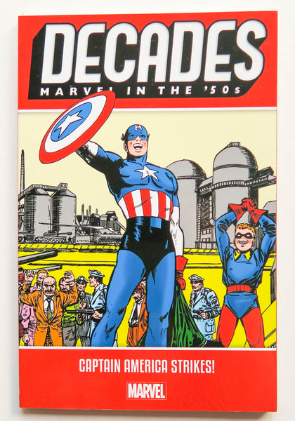 Decades Marvel In The '50s Captain America Strikes Graphic Novel Comic Book