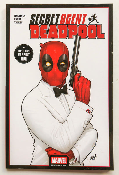 Deadpool Secret Agent Deadpool Marvel Premiere Graphic Novel Comic Book