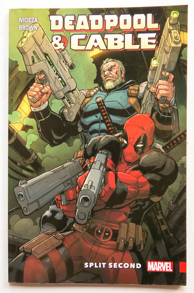 Deadpool & Cable Split Second Marvel Graphic Novel Comic Book