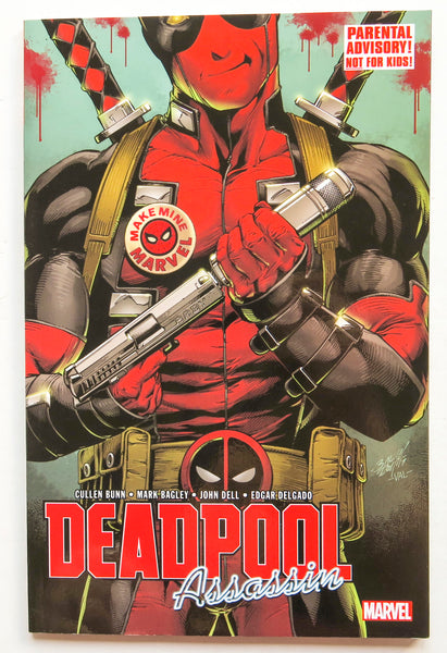 Deadpool Assassin Marvel Graphic Novel Comic Book