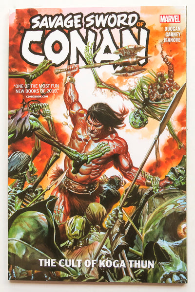 Savage Sword of Conan Vol. 1 The Cult of Koa Thun Marvel Graphic Novel Comic Book