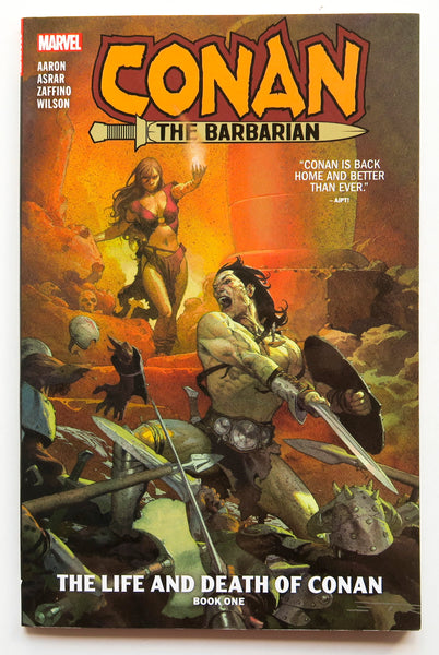 Conan the Barbarian The Life and Death of Conan Book One 1 Marvel Graphic Novel Comic