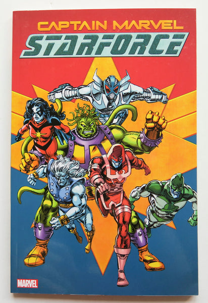 Captain Marvel Starforce Marvel Graphic Novel Comic Book