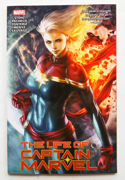 The Life of Captain Marvel Marvel Graphic Novel Comic Book