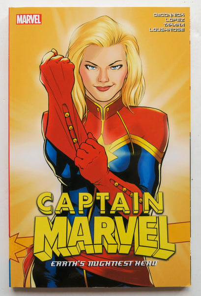 Captain Marvel Earth's Mightiest Hero Vol. 3 Marvel Graphic Novel Comic Book