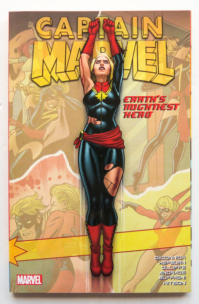 Captain Marvel Earth's Mightiest Hero Vol. 2 Marvel Graphic Novel Comic Book
