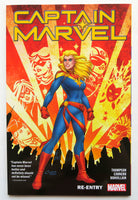 Captain Marvel Re-Entry Vol. 1 Marvel Graphic Novel Comic Book