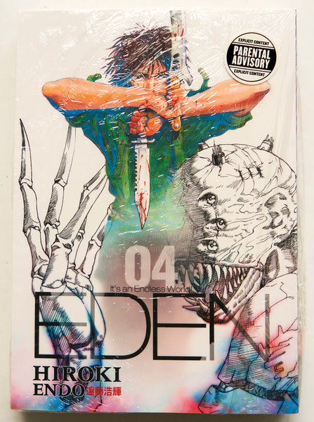 Eden It's An Endless World Vol. 4 Hiroki Endo Dark Horse Manga Book