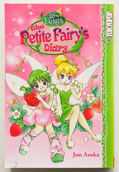 Disney Fairies The Petit Fairy's Diary Jun Asuka Tokyopop Manga Book