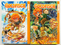 Goldfisch Vol. 1 & 2 Nana Yah Tokyopop Manga Book Lot