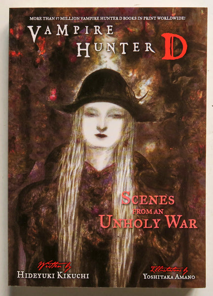 Vampire Hunter D Scenes From An Unholy War Hideyuki Kikuchi Dark Horse Prose Novel Book