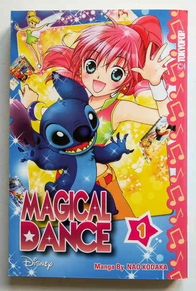 Disney Magical Dance Vol. 1 Nao Kodaka Tokyopop Manga Book