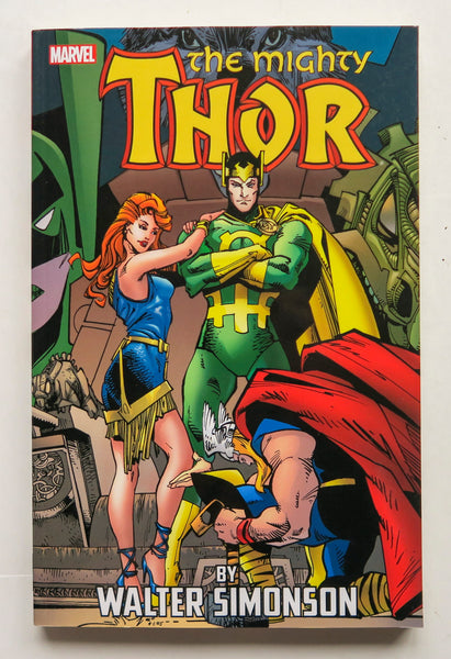 The Mighty Thor By Walter Simonson Vol. 3 Marvel Graphic Novel Comic Book