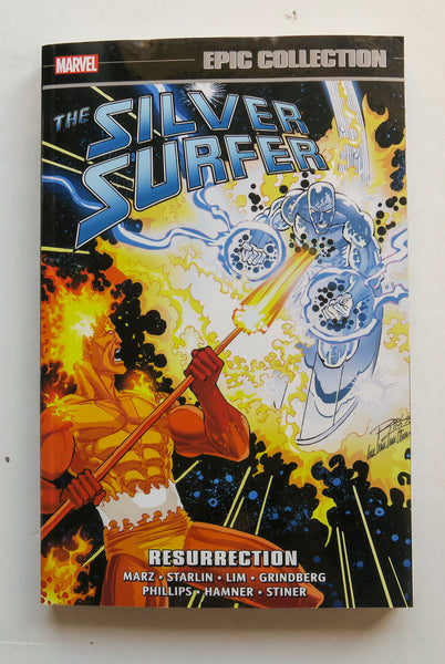 Silver Surfer Resurrection Marvel Epic Collection Graphic Novel Comic Book
