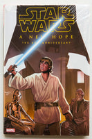 Star Wars A New Hope The 40th Anniversary Marvel Graphic Novel Comic Book