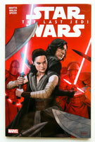 Star Wars The Last Jedi Marvel Graphic Novel Comic Book