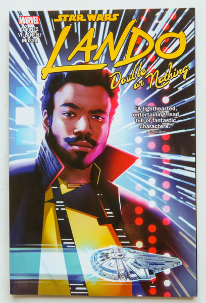 Star Wars Lando Double Or Nothing Marvel Graphic Novel Comic Book