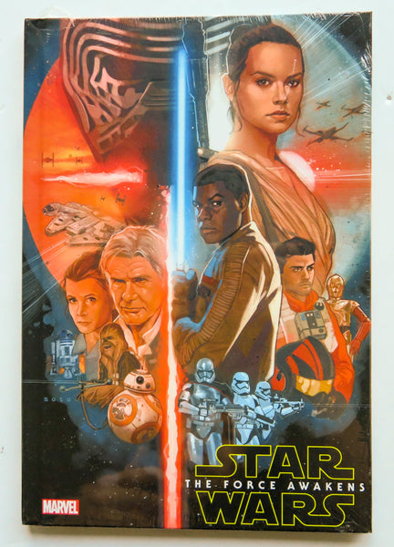 Star Wars The Force Awakens Marvel Graphic Novel Comic Book