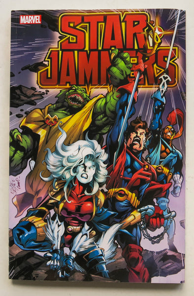 Starjammers Marvel Graphic Novel Comic Book
