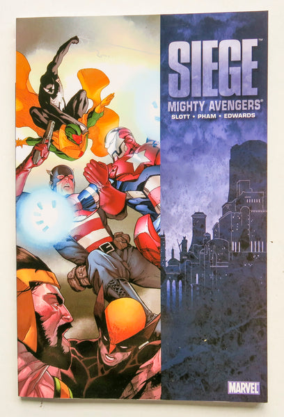 Siege Mighty Avengers Marvel Graphic Novel Comic Book