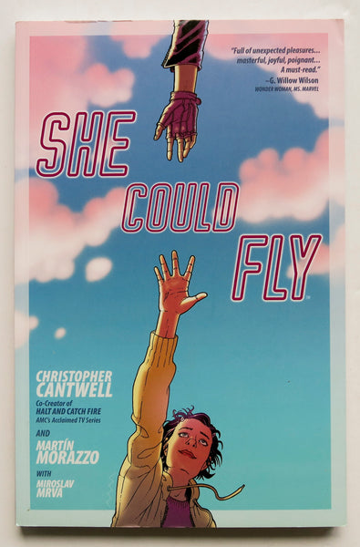 She Could Fly Vol. 1 Cantwell Morazzo Berger Books Graphic Novel Comic Book