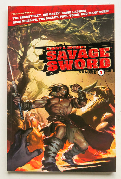 Savage Sword Vol. 1 Dark Horse Graphic Novel Comic Book