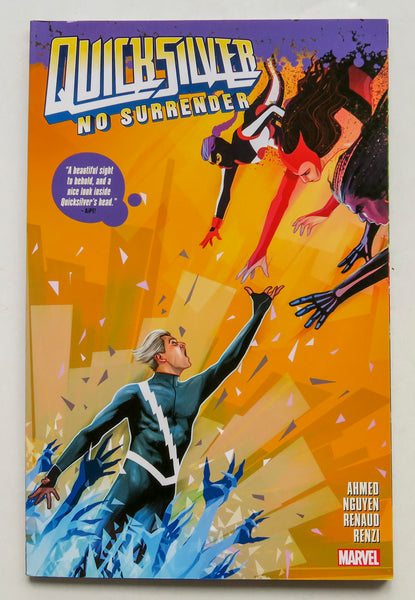 Quicksilver No Surrender Marvel Graphic Novel Comic Book