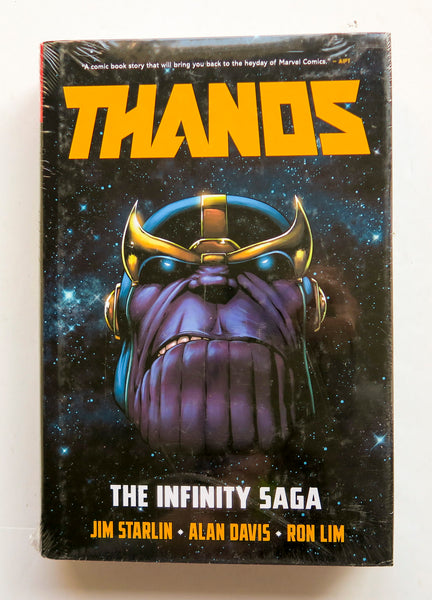 Thanos The Infinity Saga Marvel Omnibus Graphic Novel Comic Book