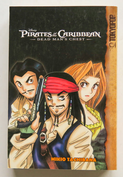 Disney Pirates of the Caribbean Dead Man's Chest Tokyopop Manga Book
