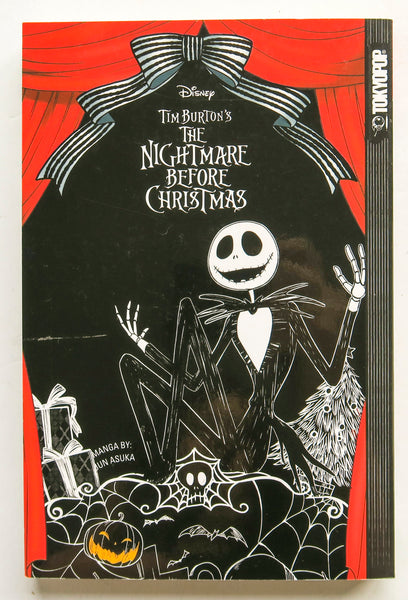 Disney Tim Burton's The Nightmare Before Christmas Tokyopop Manga Book