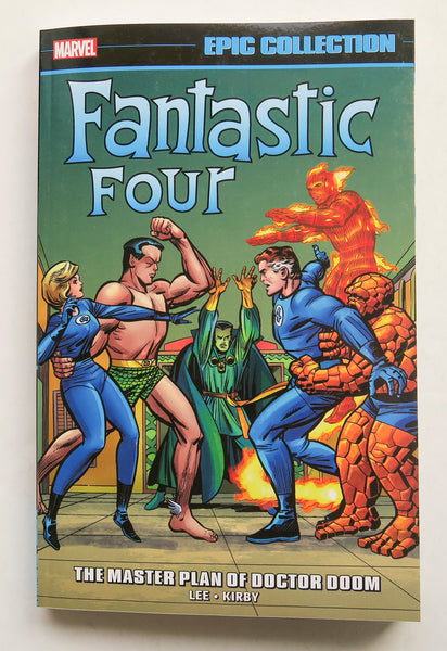 Fantastic Four The Master Plan of Doctor Doom Marvel Epic Collection Graphic Novel Comic Book