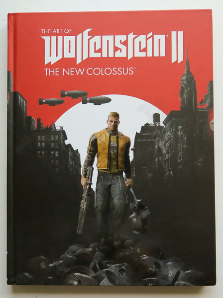 The Art of Wolfenstein II The New Colossus Dark Horse Art Book