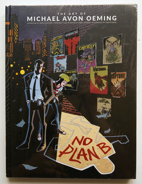 No Plan B The Art of Michael Avon Oeming Dark Horse Art Book
