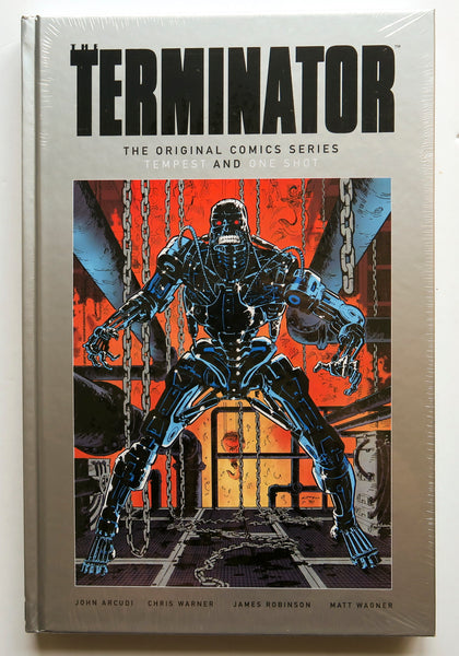 Terminator The Original Comic Series Tempest and One Shot Dark Horse Graphic Novel Comic Book