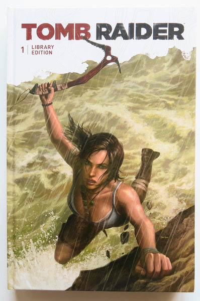 Tomb Raider Library Edition Vol. 1 Dark Horse Graphic Novel Comic Book